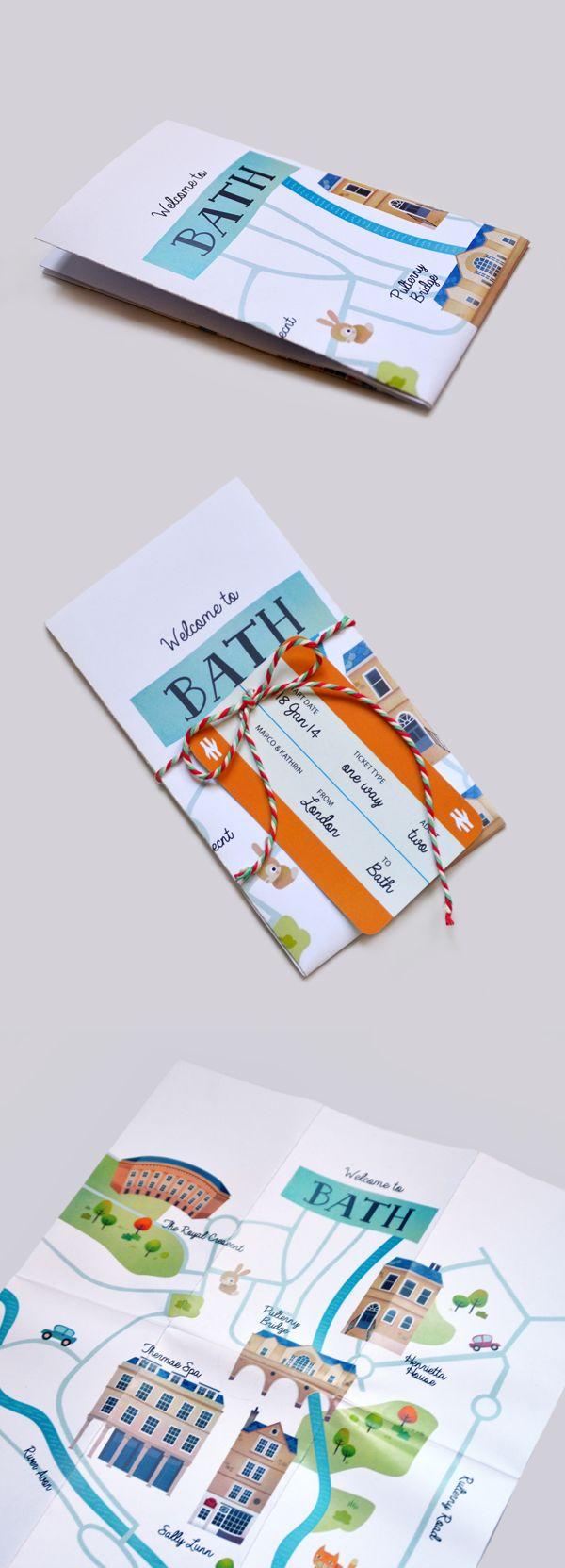 Bath Map Design on Behance