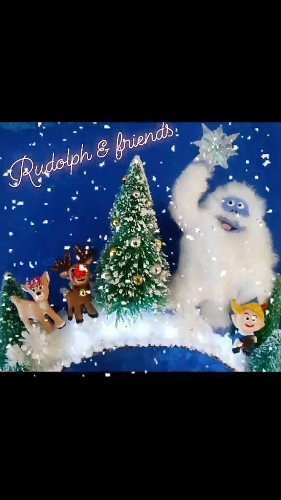 Light Up 3d Rudolph And Friends Ears Christmas Ears Rudolph