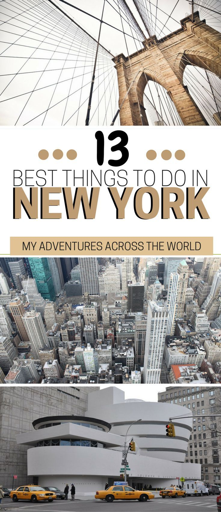 Visiting the Big Apple soon? Check out this list of the best things to do in New York City which are honestly unmissable! If you are wondering what to do in New York, don't miss this exhaustive guide. | New York city travel guide | New York travel tips #N