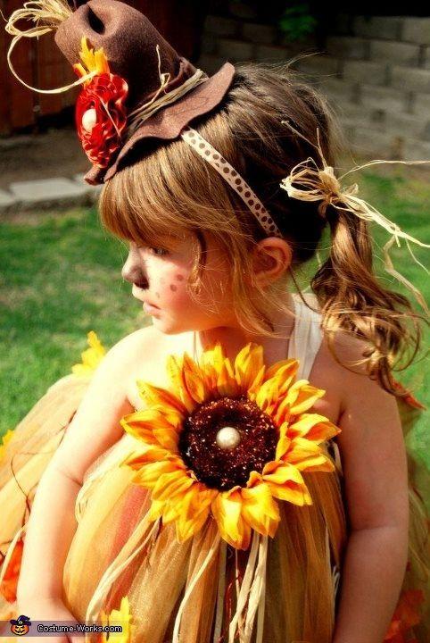 Scarecrow Baby Costume - Halloween Costume Contest via @costumeworks, could DIY.