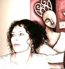 Nelson artist, Kathryn Furniss.