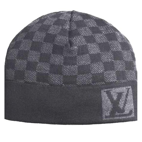 """Authentic Louis Vuitton Damier Cap Never Worn-Iconic graphite 100% LV Damier Cap Approximately 8-9"""" diameter. Louis Vuitton Accessories Hats"""