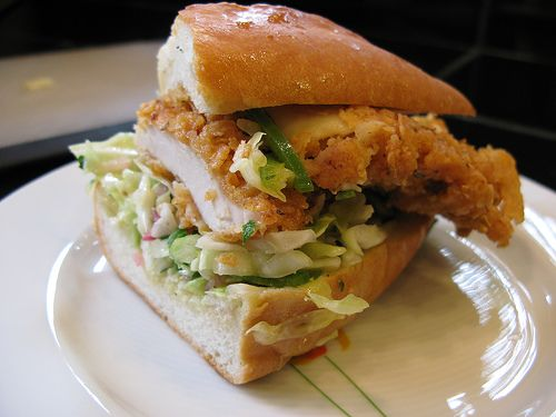 Sandwich RECIPES AND IMAGES | Fried Chicken Sandwich Recipe - Sandwich and Burgers