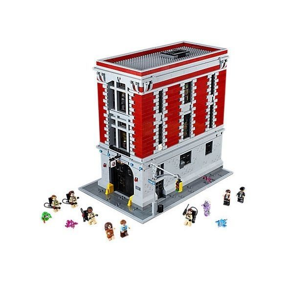 Ghostbusters Fire House Lego Set Headquarters Building Toys  #LEGO