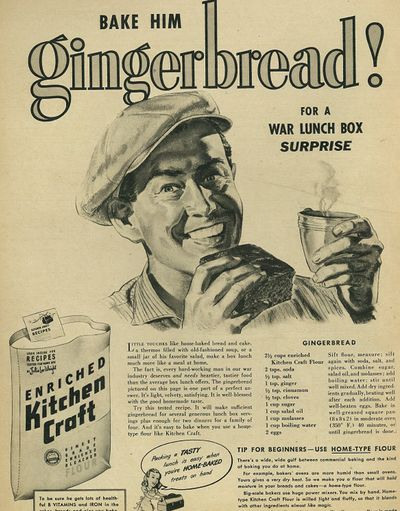 Maybe this Christmas I'll give away homemade gingerbread instead of fudge  #vintagerecipes
