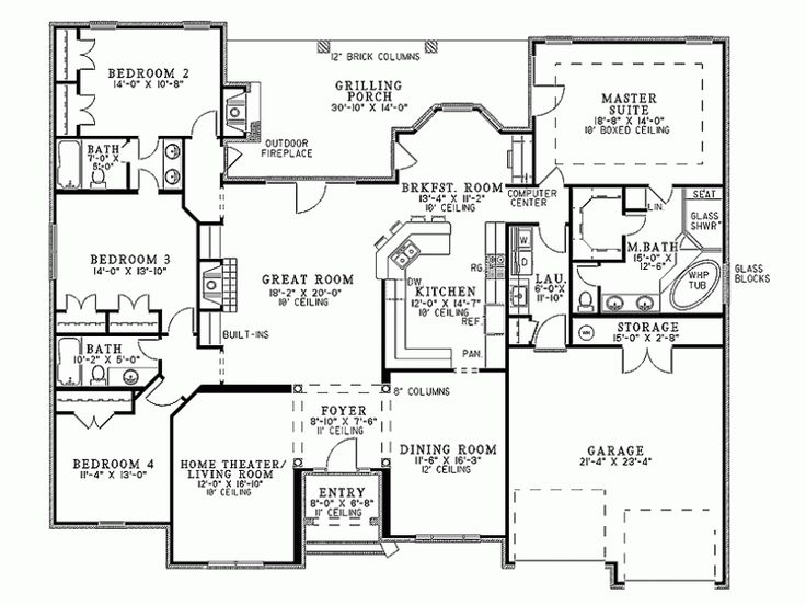 41 best House plans images on Pinterest