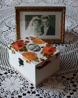 Szkatułka- Rocznica Ślubu