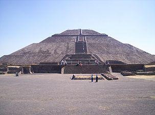 AvenueoftheDeadTeotihuacan - Teotihuacan - Wikipedia, the free encyclopedia