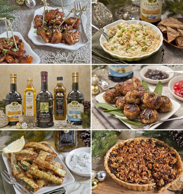 5 Holiday Appetizer Recipes and #Colavita Olive Oil #Holiday #Giveaway! | The Artful Gourmet