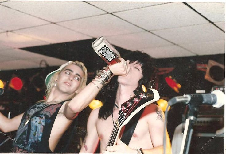 Taime Downe & Eric Stacy from Faster Pussycat 1988