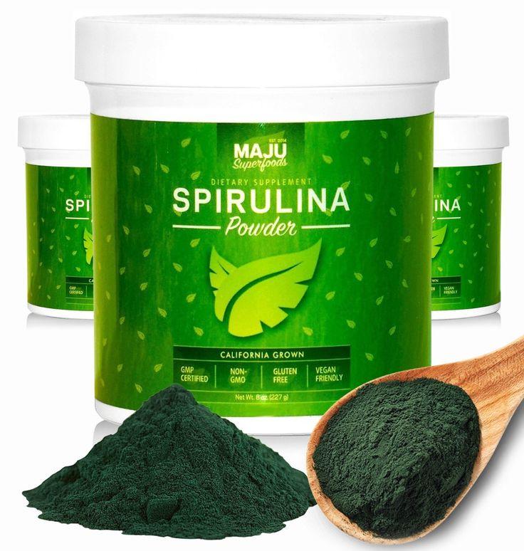 Spirulina Powder: California Grown (Best Seller!)