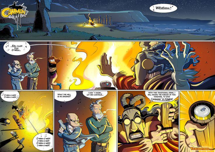 Season2 - Issue19 #canman #webcomic by #DARKDOG