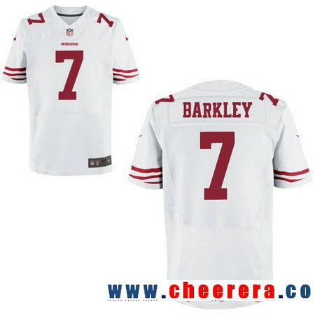 86ac64dd3 ... 44 kyle juszczyk jersey . mens san francisco 49ers 7 matt barkley white  road stitched nfl nike elite jersey