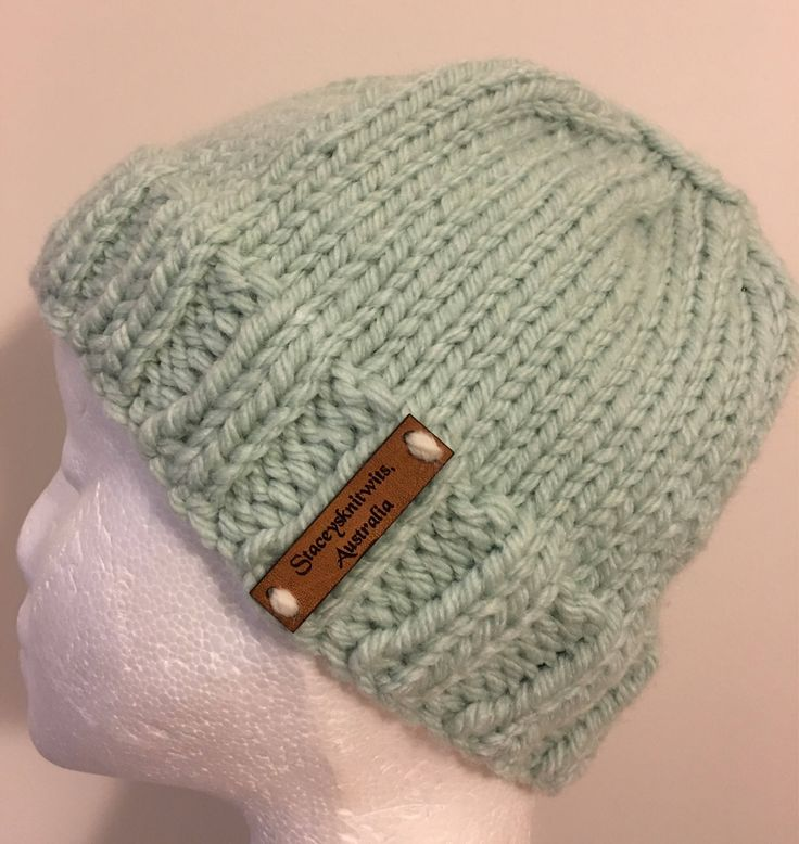 A personal favourite from my Etsy shop https://www.etsy.com/au/listing/597044347/knitted-mint-beanie-messy-bun-hat-ladies