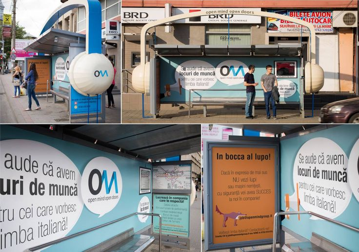 Supersized Headphones Transit Shelters #OOH #advertising