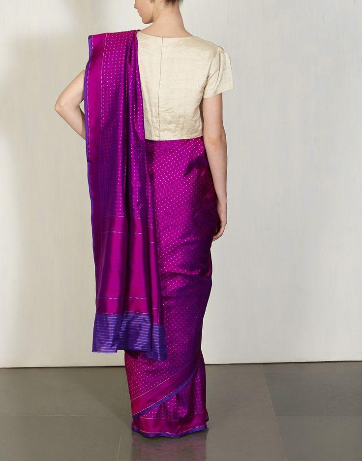 Benaras Do Rukha ( Double Sided Sari )-The Benaras Curation