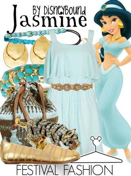 Disney Bound - Jasmine