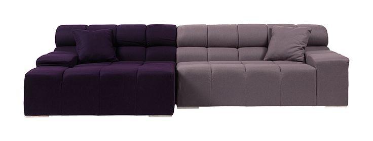 Метки: Большие диваны.              Материал: Ткань.              Бренд: DG Home.              Стили: Скандинавский и минимализм.              Цвета: Светло-серый, Фиолетовый.