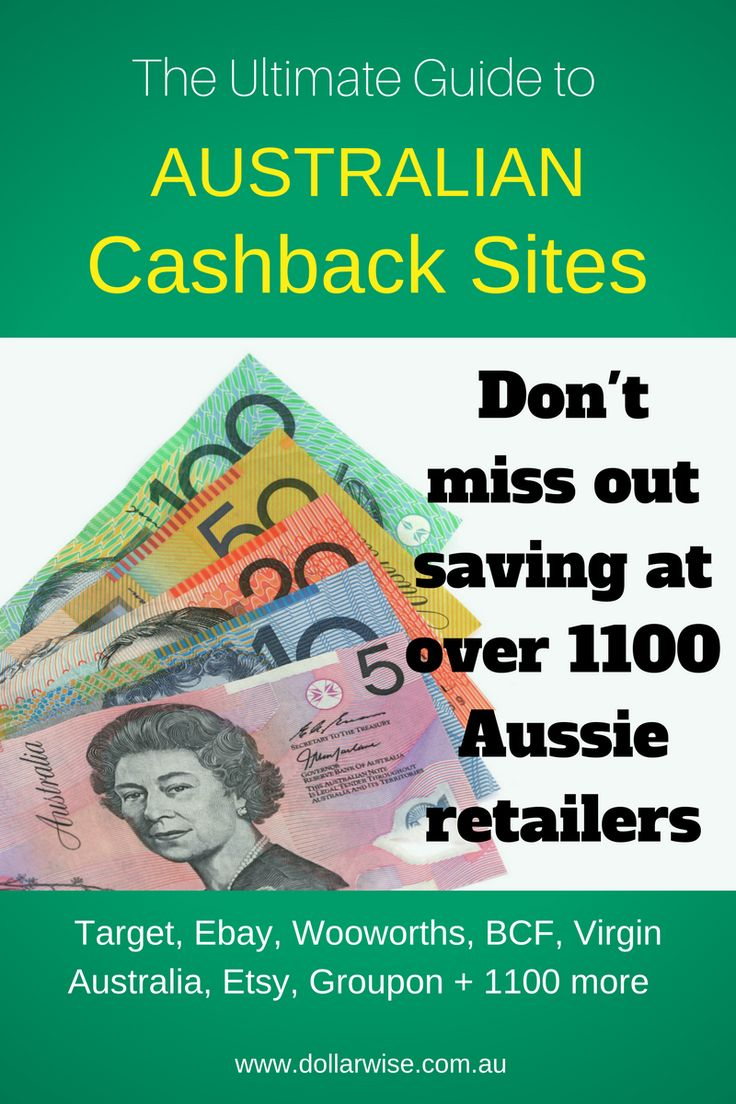 Did you know that you can get cashback at over 1100 Australian Online Stores via Cashback Sites? This guide shows every cashback site, which stores are offered where and how to maximise your returns. Don't miss out on savings from stores you shop at all the time. Think Target, Woolworths, ebay, Dan Murphy's, Expedia, Booking.com and more.