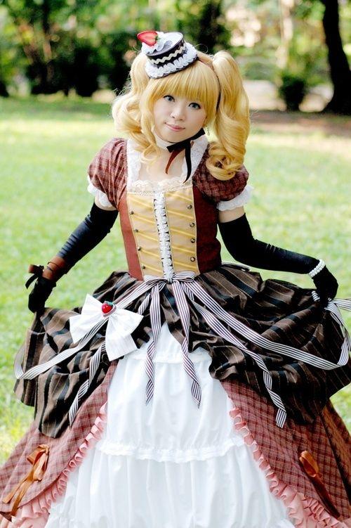 cosplay Black butler lizzy