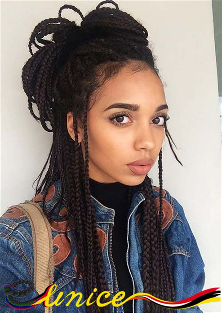 braids styles hair 16 best images about 18 inches box braids hair extension 3457