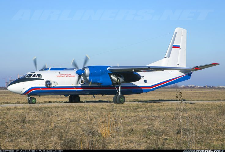 Antonov An-26 - Russia - Ministry of Internal Affairs