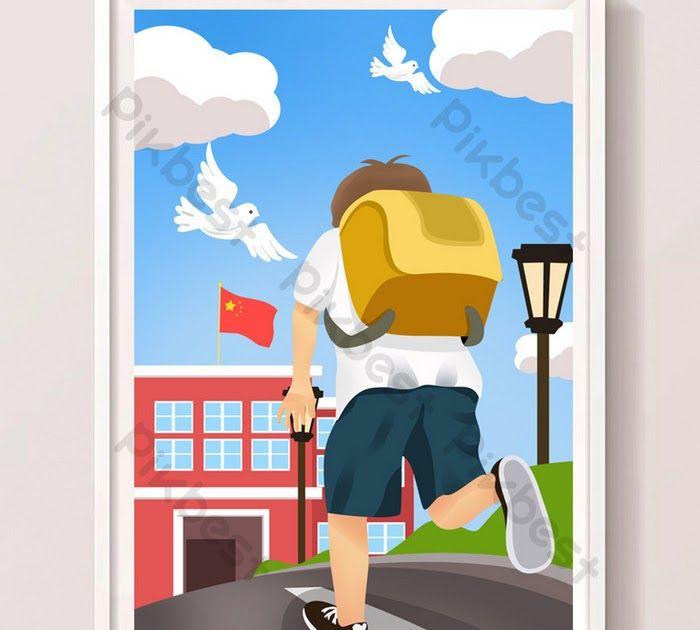 33 Gambar Kartun Pelajar Sedang Belajar Pelajar Kartun Berjalan Ke Ilustrasi Musim Sekolah Download Fang Boboiboy Wiki Fandom Down Di 2020 Kartun Gambar Belajar
