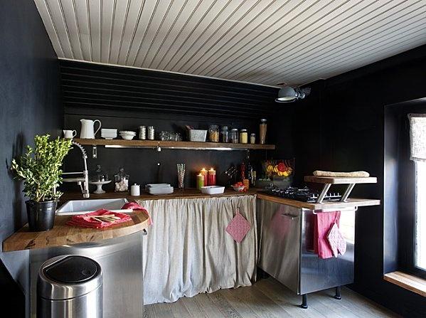 Les Meilleures Idées De La Catégorie Rideau De Placard Sur - Store pour meuble de cuisine pour idees de deco de cuisine