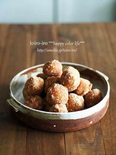 ふわもっちり!かぼちゃ豆腐ドーナツ by トイロさん | レシピブログ ...