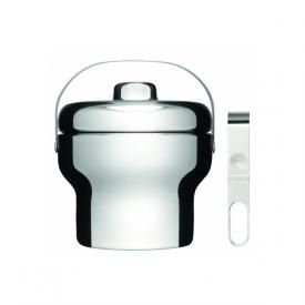 For the Dad who loves his home bar, a polished stainless steel ice bucket. #FathersDay