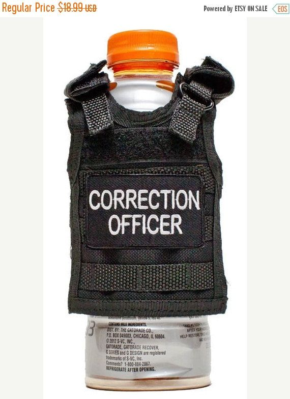 On Sale Miniature Tactical Vest Beverage Holder  by RescueTees