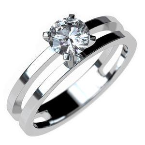 #anillo de #compromiso moderno en #oro de 18k. @EternityJoyeria