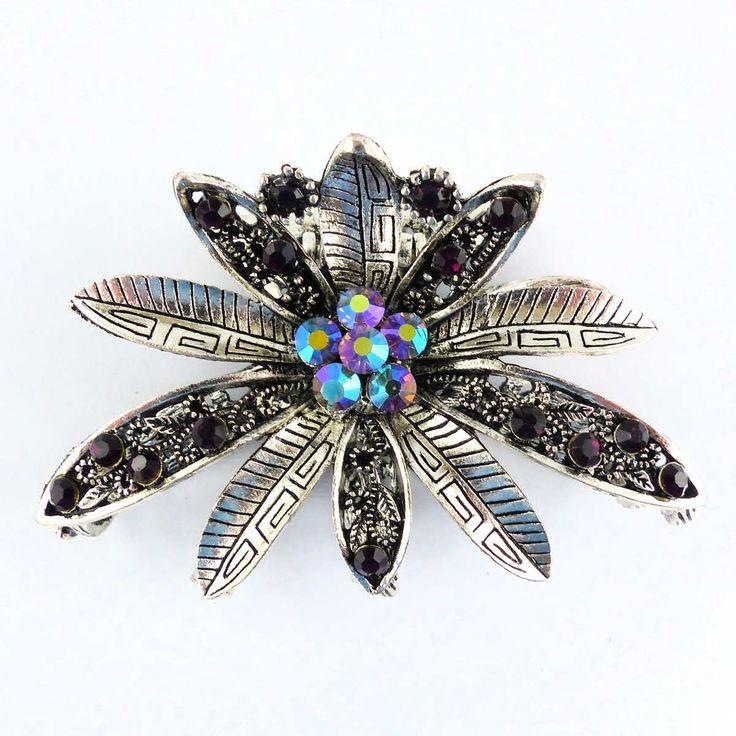 Grande pince Crabe Prixi - Grandes pinces crabe - Bijoux et accessoires cheveux - Eclats de Cristal