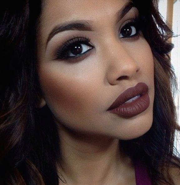 Resultado de imagen para maquillaje de labios mujer negra