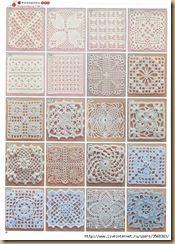 GRANNY SQUARE CROCHET (PĂTRATUL BUNICII) patterns and schemes for all