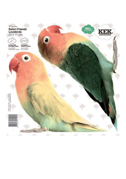 Muurstickers vogels 12,95