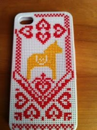 Embroidered iphone case: Med nål och tråd blir din telefon din egen | Zickermans Värld