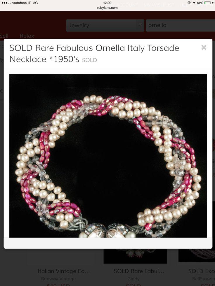 Necklace - Ornellabijoux