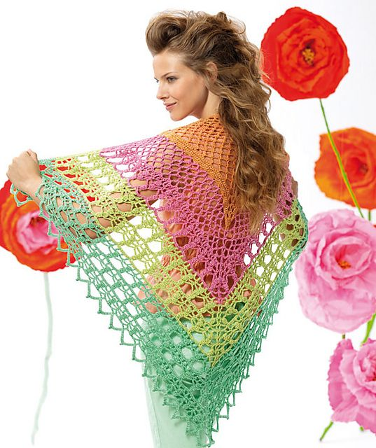Gorgeous!! on Ravelry: S8432 Crochet Shawl pattern by Schachenmayr