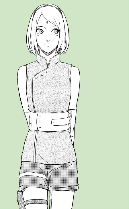 Sakura Haruno from The Last: Naruto the Movie, to be released on December 6th, taking place after the canon events of Naruto: Shippuden and the Manga.