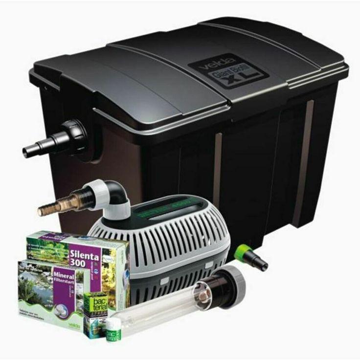 eBay #Sponsored Velda Giant Biofill XL Set High Stream 15000 Teich Filter Mehrka… – Teiche, Bachläufe und Brunnen