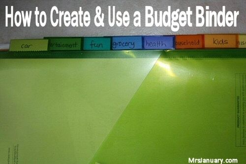 How to Budget - Use a Budget Binder