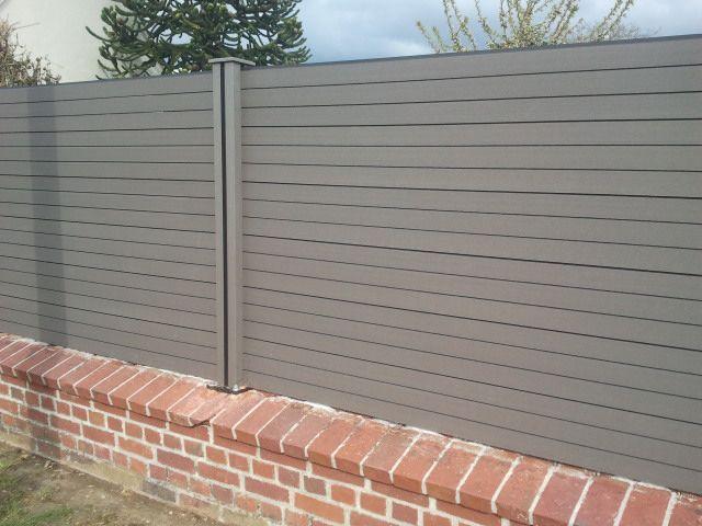 Claustra en composite mur pinterest for Exterieur stock