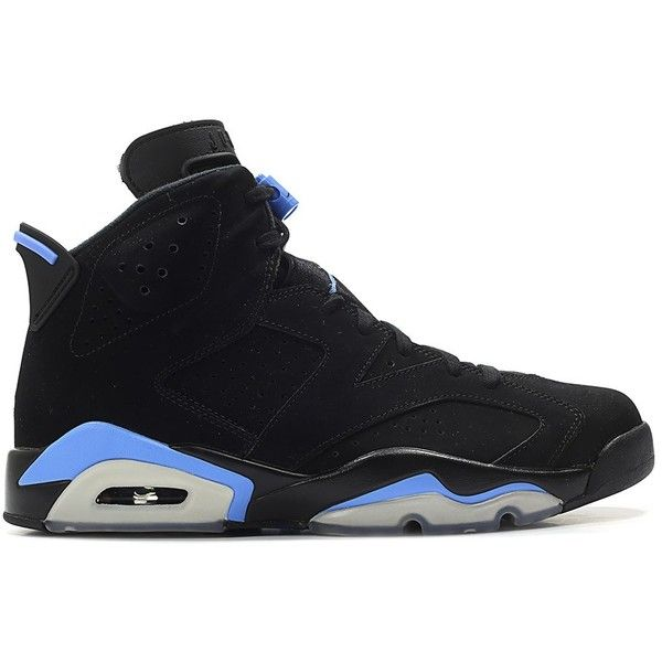 Nike Air Jordan 6 Retro Black Blue White 235 Liked On Polyvore Featuring Accessories And Nike With Images Air Jordans Jordans Nike Air Jordan 6