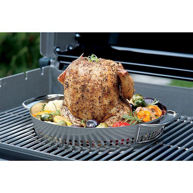 Gourmet GBS Support de cuisson pour poulet pour barbecue Weber