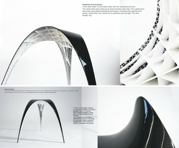 Gaudi Chair Futuristic Design by Bram Geenen | Birdhouse ...