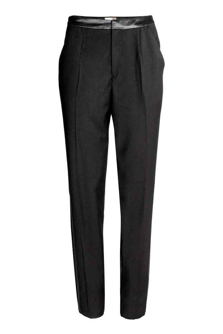 Pantaloni da tailleur - Nero - DONNA | H&M IT