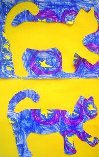 BOOK: Vincent Van Gogh's Cat Make Pos / Neg images of a cat