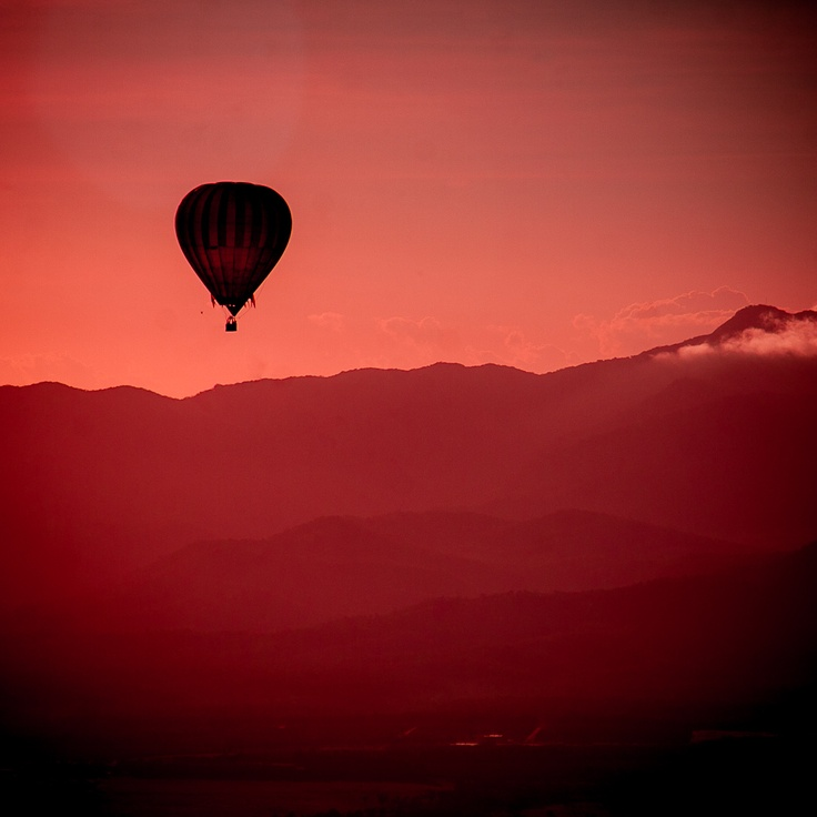 The Atherton Tablelands in Far North Queensland at its finest - as viewed best from a Hot Air balloon