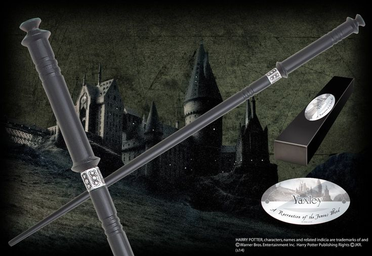 Yaxley's Character Wand - The Noble Collection